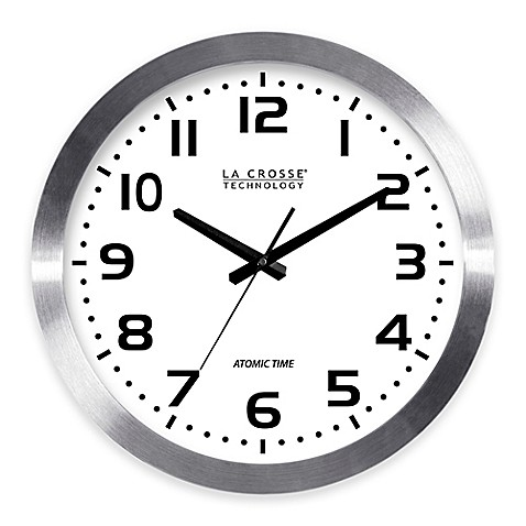 la crosse technology atomic clock how to set