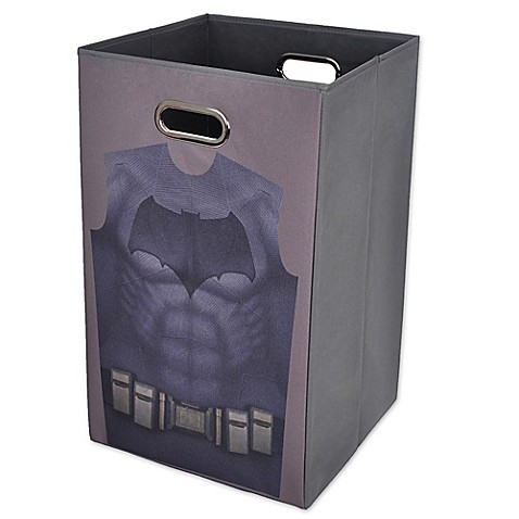 Batman vs superman batman folding laundry hamper bed bath beyond - Superhero laundry hamper ...