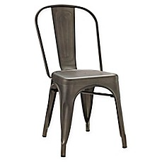 image of Modway Promenade Steel Dining Side Chair