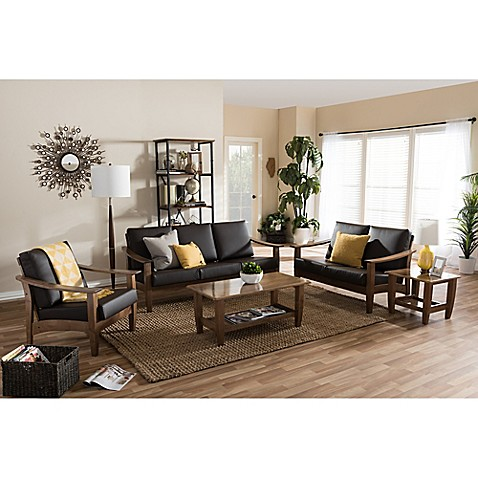 Baxton Studio Pierce Living Room Furniture Collection