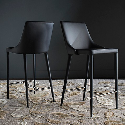 Buy Safavieh Summerset Counter Stool In Black From Bed