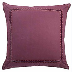 Image Of Blissliving® Bahia Palace European Pillow Sham In Red