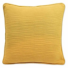 image of Blissliving® Yasmine 18-Inch Square Throw Pillow in Yellow