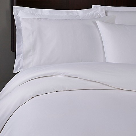 T Y Group Cotton Sateen Solid King Pillow Shams In White