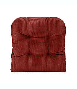 Cojín para silla de memory foam Therapedic® color borgoña