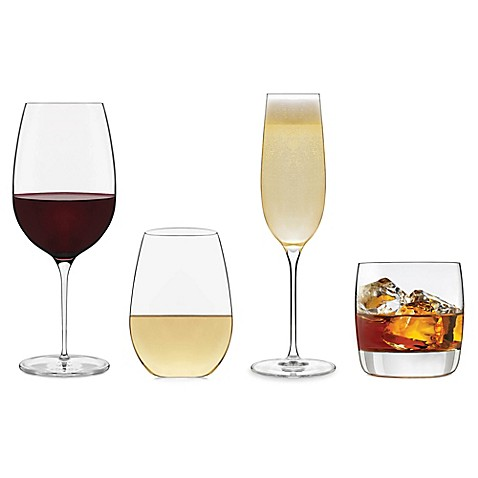 image of libbey glass signature kentfield drinkware and stemware collection - Libbey Glassware