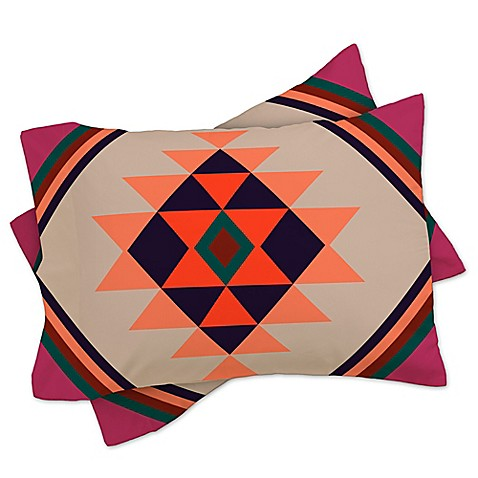 Buy Deny Designs Wesley Bird Desert King Pillow Shams In