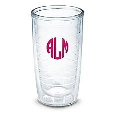 image of Tervis® 16-Ounce Personalized Clear Tumbler