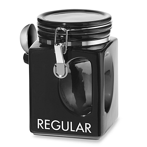 oggi kitchen canisters oggi ez grip regular coffee canister bed bath amp beyond 14410