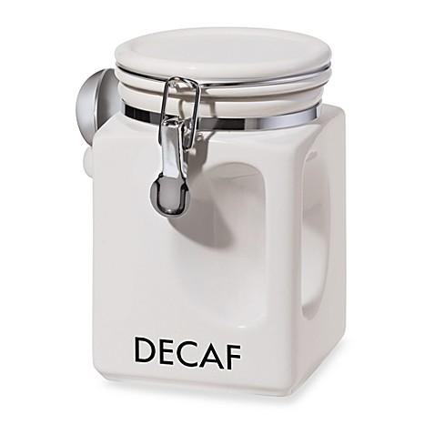 Oggi Ez Grip Decaf Coffee Canister Bed Bath Amp Beyond