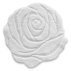 image of Jessica Simpson 27-Inch x 27-Inch Bath Mat in White