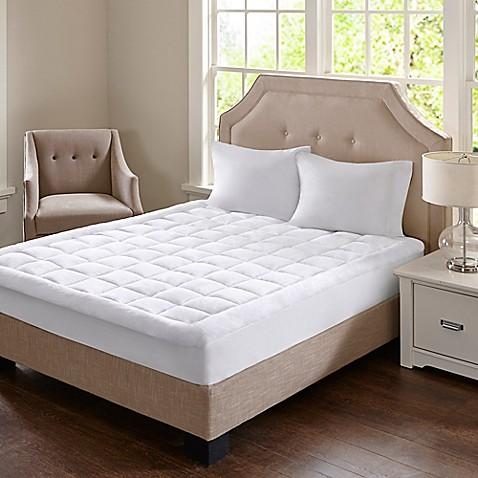 Madison Park Cloud Soft Mattress Pad Bed Bath Amp Beyond