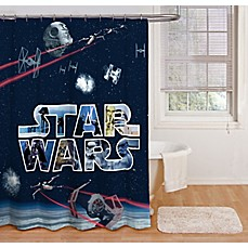 Image Of Star WarsTM Space Battle 72 Inch Shower Curtain