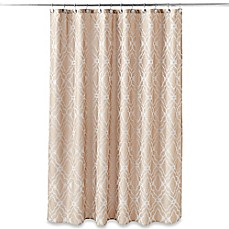 image of Taj Mahal Shower Curtain in Tan