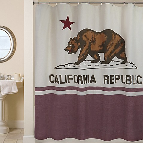 Park B Smith California Republic 72 Inch Shower Curtain