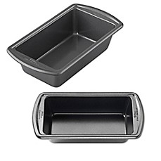 image of Wilton® Advance Select Premium Nonstick™ Loaf Pan in Gunmetal