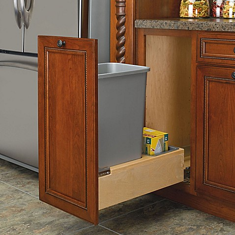 buy rev a shelf wood pull out bottom waste containers in. Black Bedroom Furniture Sets. Home Design Ideas