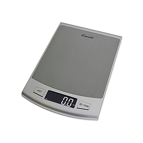 Escali Passo High Capacity Digital Kitchen Scale Bed Bath Beyond