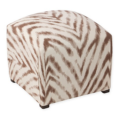 Zebra Ottoman Bed Bath And Beyond
