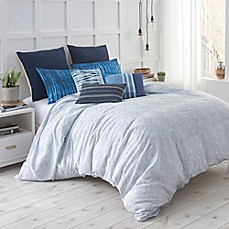 image of Under the Canopy® Shibori Chic Comforter Set in Blue