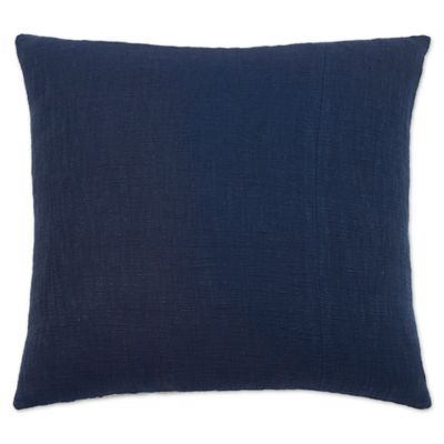image of Under the Canopy® Shibori Chic European Pillow Sham in Indigo