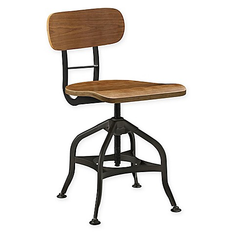 Modway Mark Wood Bar Stool In Brown Bed Bath Amp Beyond