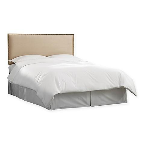 Skyline Furniture Groveton Nail Button Border Headboard Bed Bath Beyond