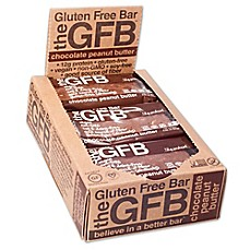 image of The GFB™ 12-Pack Chocolate Peanut Butter Gluten Free Bar