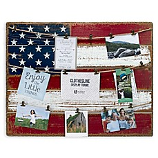Image Of Malden® 21 Inch X 27 Inch American Flag Frame Collage
