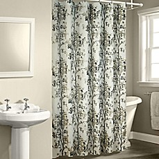 image of Dean Shower Curtain in White