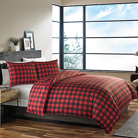 Eddie Baueru0026reg; Mountain Plaid Duvet Cover Set ...