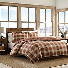 image of Eddie Bauer® Edgewood Plaid Duvet Set