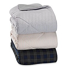 image of The Seasons Collection® Flannel Reversible Comforter
