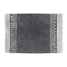 image of Twilight Cotton Bath Rug in Grey