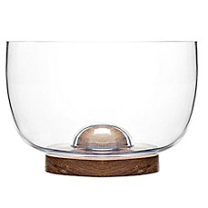 image of Sagaform® Oval Oak Salad Bowl