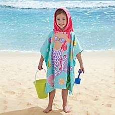 image of Mermaid Kids Hooded Towel