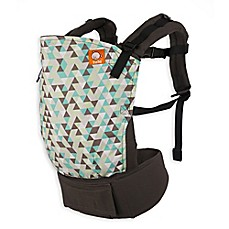 image of Baby Tula Equilateral Baby Carrier in Green/Grey