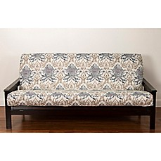 image of SIScovers® Genoa Camo Microfiber Futon Slipcover in Cream