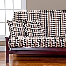 image of SIScovers® Hound Dog Microfiber Futon Slipcover in Cream