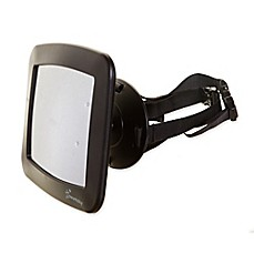 image of Dreambaby® Adjustable Backseat Mirror in Black