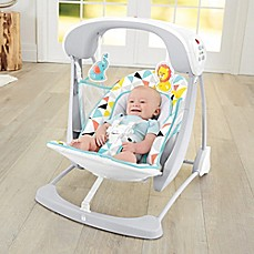 image of Fisher-Price® Deluxe Take-Along Swing & Seat
