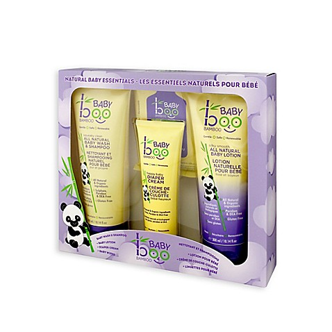 Baby boo bamboo natural baby essentials gift set bed bath beyond baby boo bamboo natural baby essentials gift set negle Choice Image