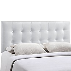 image of Modway Emily Vinyl Tufted Headboard