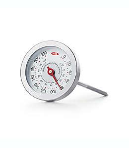 Termómetro analógico de acero inoxidable OXO Good Grips® para carne