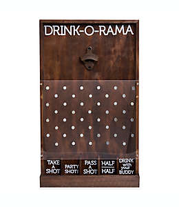 Juego para fiestas Refinery Drink-O-Rama con destapador