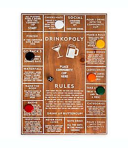 Tablero para juegos de madera Polished con shots