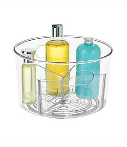 Organizador giratorio de plástico iDesign® para cosméticos/artículos de tocador