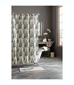Cortina de poliéster para baño Croscill® Mosaic Leaves de 1.77 x 1.82 m