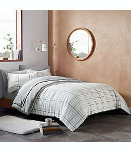 Set de edredón king de poliéster UGG® Devon color gris