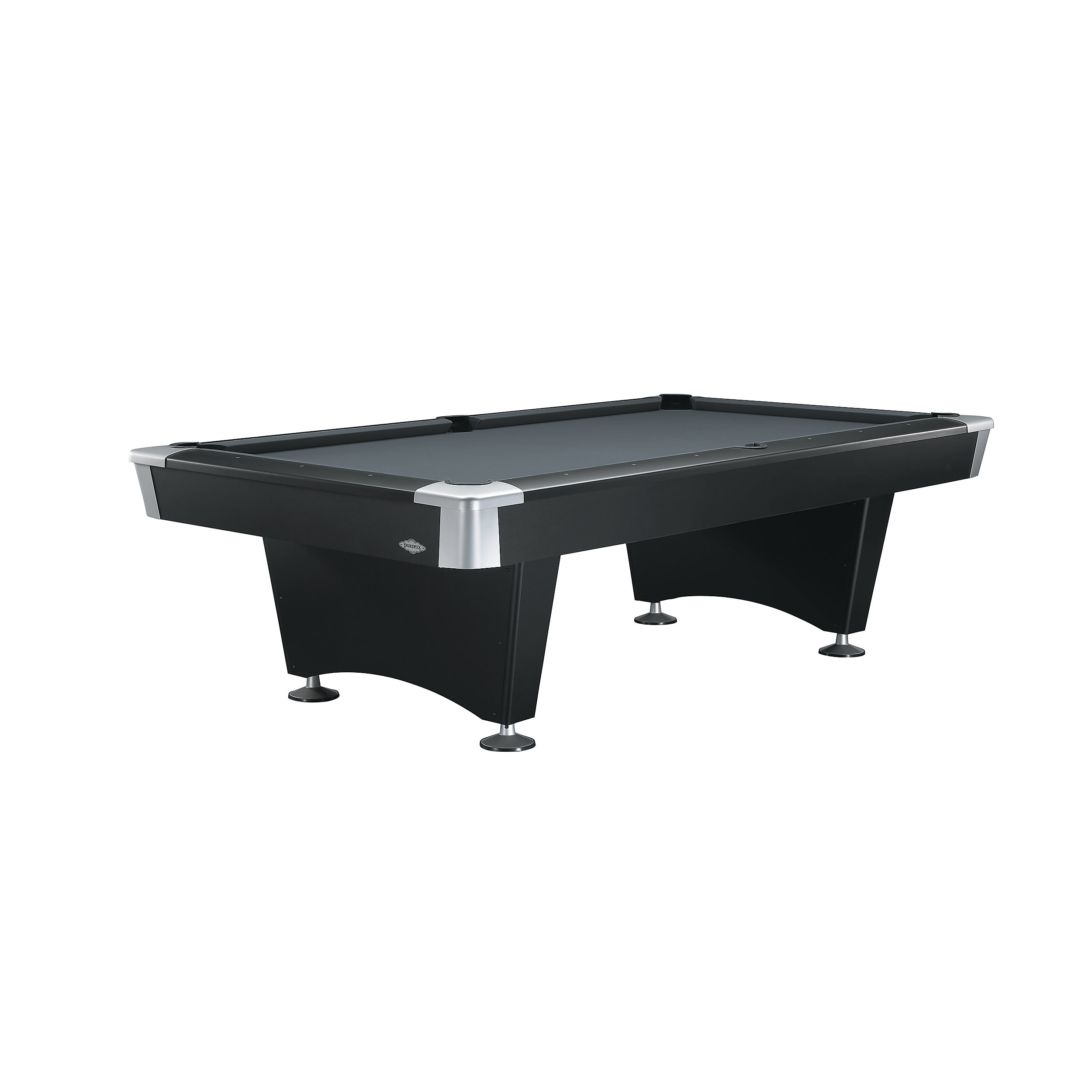 Black Pool Table Brunswick Black Wolf Contemporary Pool Table - Brunswick pool table reviews
